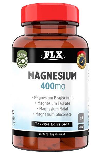 Magnezyum Elementleri Magnesium Bisglisinat Malat Taurat Glukonat 60 Tablet