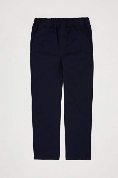 Erkek Çocuk Beli Lastikli Dokuma Pantolon R7061A620AU