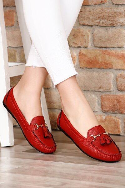 Kırmızı Kadın Babet 30120