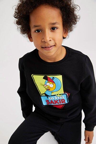 Erkek Çocuk Kral Şakir Lisanslı Sweatshirt