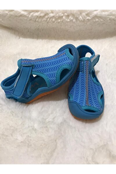 Unisex Çocuk Mavi Spor Sandalet