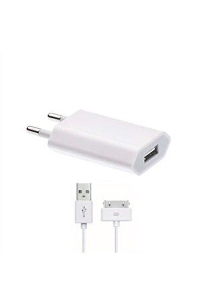 Apple Iphone 4/4s Uyumlu Şarj Aleti Ve Data Kablosu