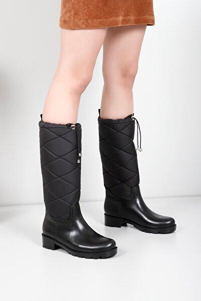 Gön Siyah Kadın Yağmur Çizmesi 30710