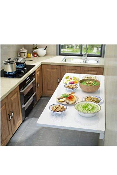 Katlanır Duvara Monte Mutfak Masası Yemek Masası   90*45 cm