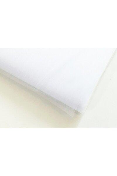 Kristal Tül - En 3 Metre - Soft Ve Canlı Renklerde - Beyaz