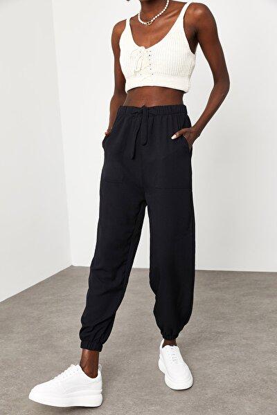 Kadın Siyah Jogger Pantolon 1KZK8-11501-02
