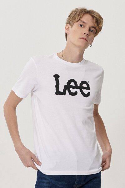 Regular Fit Bol Kesim Sıfır Yaka %100 Koton Logolu Tişört