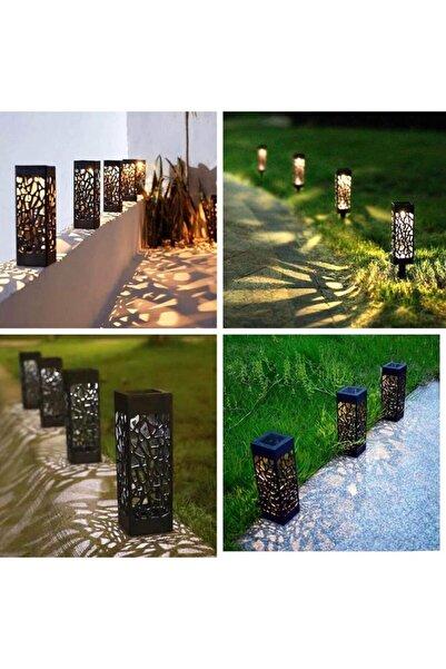 Yürüyüş Yolu Dekoratif Solar Bahçe Aydınlatma 8 Li