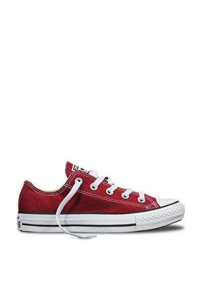 Unisex Bordo Kısa Yürüyüş Ayakkabısı M9691c
