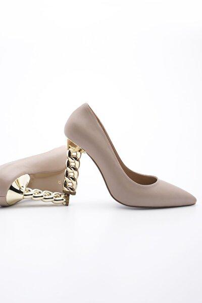 Kadın Stiletto Topuklu Ayakkabı Dukinbej