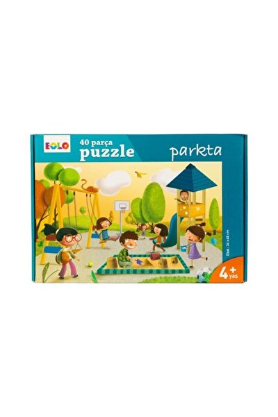 40 Parça Puzzle - Parkta