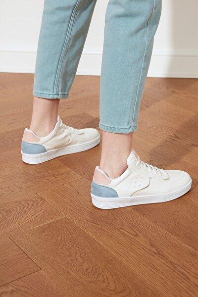Beyaz Kadın Sneaker TAKSS21SN0020