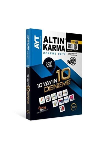 Altın Karma 2021 Ayt 10 Farklı Yayın 10 Deneme Seti