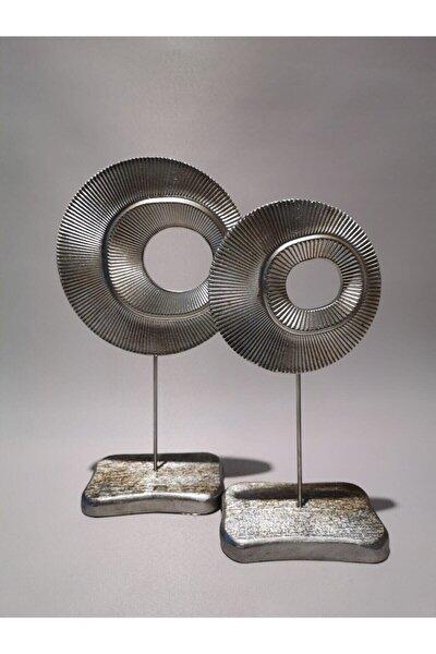 Halka Modeli Gümüş Dekoratif Biblo