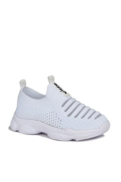Macro Unisex Bebe Beyaz Spor Ayakkabı