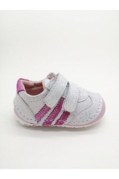 Kız Bebek Buz Pembe Baskılı İlk Adım Günlük Ayakkabı