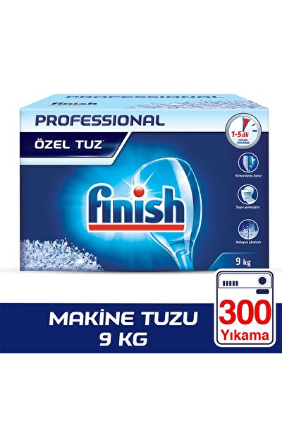Professional Bulaşık Makinesi Tuzu 9 kg