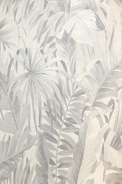 19254 Geniş Yaprak Desenli Duvar Kağıdı (5,33 m²)