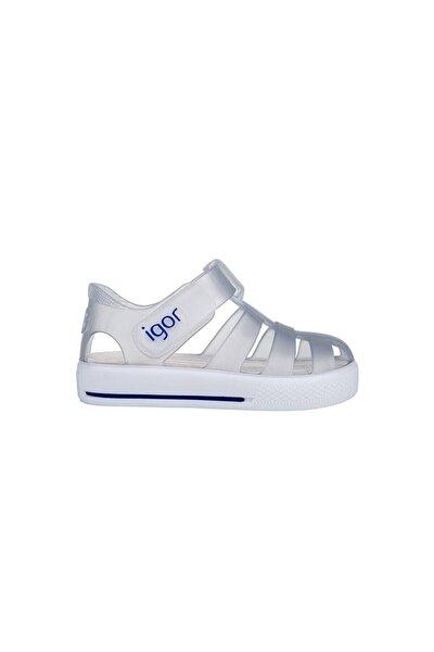 Bebek Beyaz Star Yazlık Sandalet S10171-038 S10171