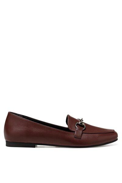 MELA Bordo Kadın Loafer Ayakkabı 101025936