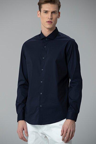 Aidan Smart Gömlek Slim Fit Lacivert