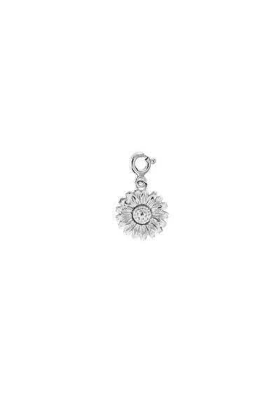 925 Ayar Gümüş Papatya Charm