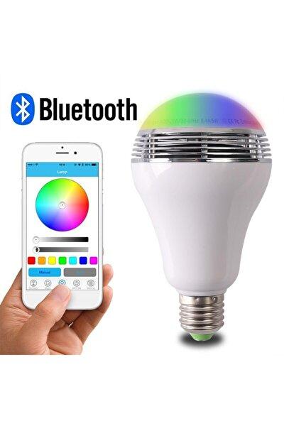 Bluetooth Hoparlörlü Rgb Wifi Ampul-telefon Kontrol