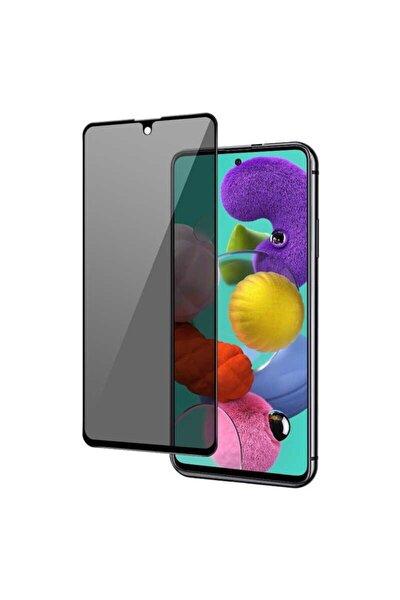 Samsung M31 Tam Kaplayan 5d Hayalet Prıvacy Kırılmaz Cam