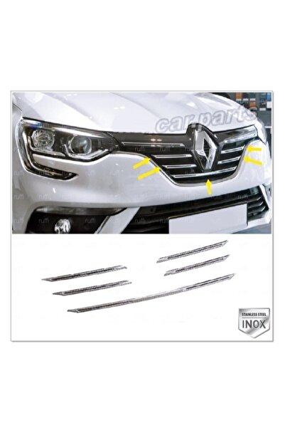 Renault Megane 4 Krom Ön Panjur 5 Prç. 2016 Üzeri P. Çelik