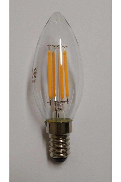 Led 4w Dekoratif Mum Ampül-dörtlü Paket- Mağaza Ürünü,e14 Duylu