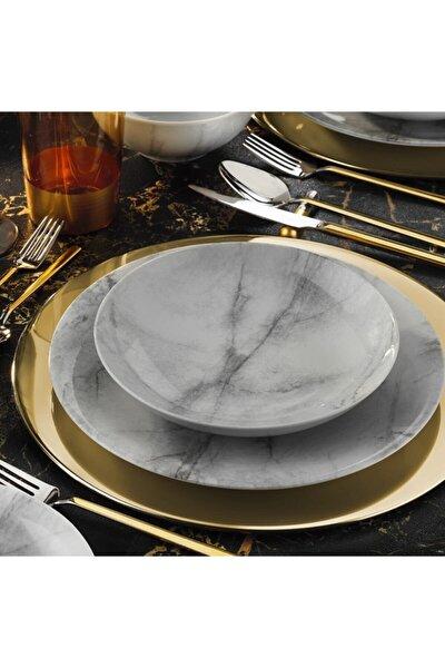 Marble Zeugma Yemek Tabağı 6'lı 21 cm