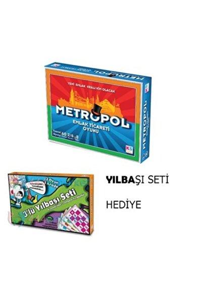 Metropol Emlak Ticaret Oyunu -Tombala Kızmabirader -Fırdöndü Birarada Kutu Oyunları