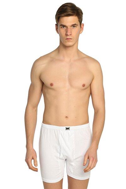 Erkek Beyaz 6'lı Paket Penye Paçalı Külot ELF568T0110CCM6