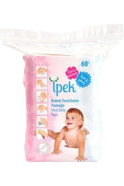 Maxi Bebek Temizleme Pamuğu 60 Lı 12 Paket