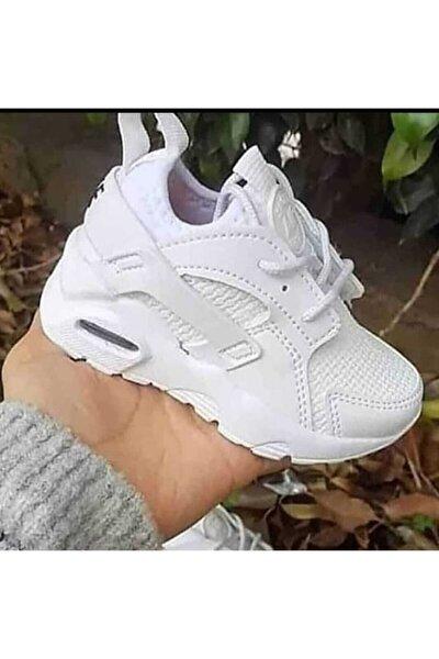 Unisex Çocuk Beyaz Ayakkabı