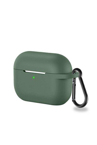 Airpods Pro Uyumlu Silikon Kılıf Yeşil