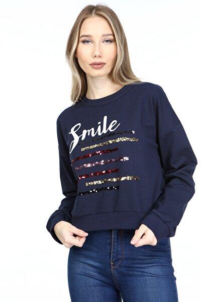 Kadın Lacıvert Sweatshirt 2065022001019