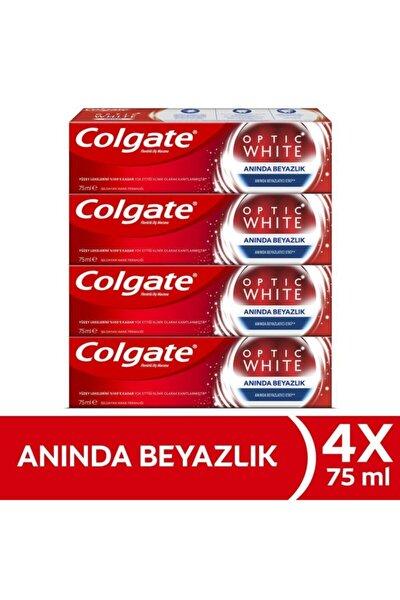 Optic White Anında Beyazlık Anında Beyazlatma Etkisi Beyazlatıcı Diş Macunu 4 X 75 Ml