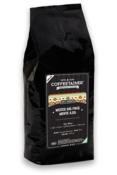 Meksika Monte Azul Çekirdek Kahve (%100 Arabica) 1 Kg