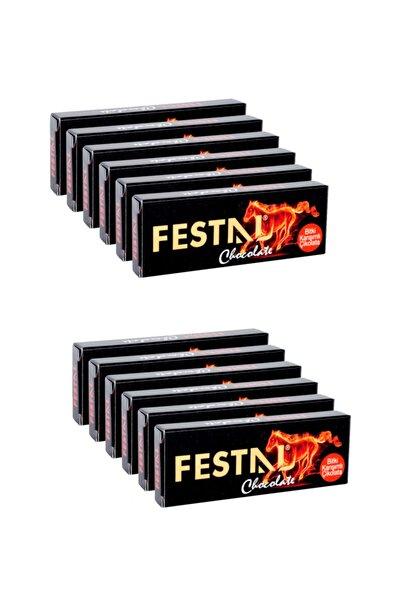 Festal Çikolata 6 Adet Kadın + 6 Adet Erkek