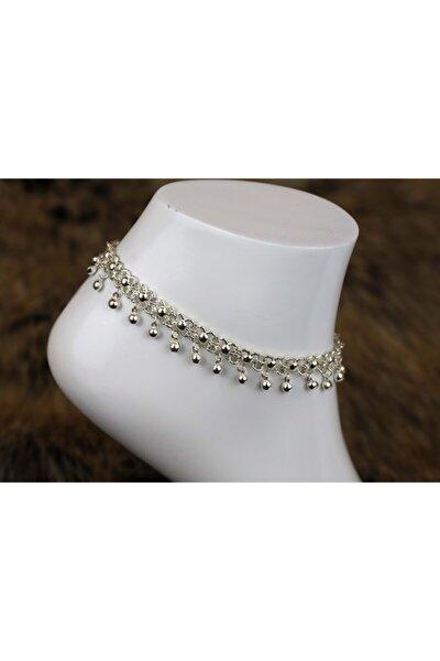 Kadın Gümüş El Işçiliği Telkari Halhal 925 Ayar Dgn20129