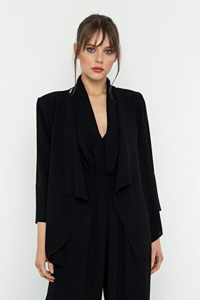 Şal Yaka Siyah Ceket