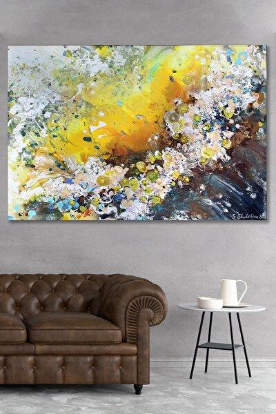 Darbeler Soyut Kanvas Tablo 90x130
