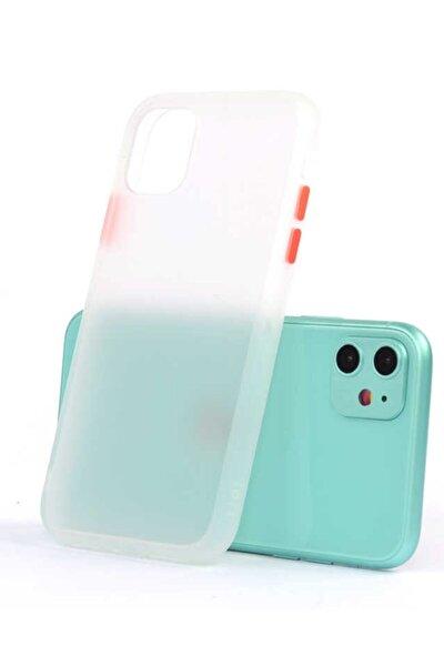 Iphone 11 Uyumlu Fri Mat Kasa Pastel Renkler Darbe Emici Silikon Şeffaf Kılıf