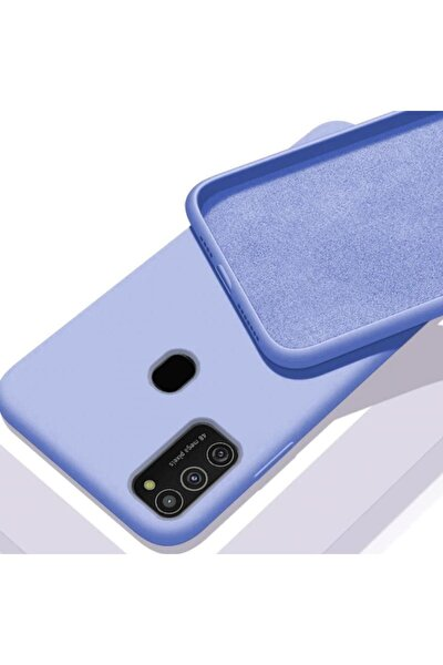 Samsung Galaxy M21  Uyumlu Içi Kadife Lansman Kılıf
