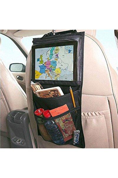 Araba Oto Araç Içi Koltuk Arkası Eşya Düzenleyici Organizer Tablet Telefon Tutucu Koltuk Koruyucu