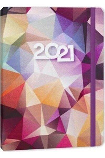 14x20 Velvet Günlük Ajanda  Crystal