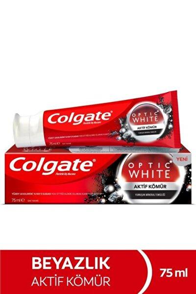 Optic White Aktif Kömür Yumuşak Mineral Temizliği Beyazlatıcı Diş Macunu 75 ml