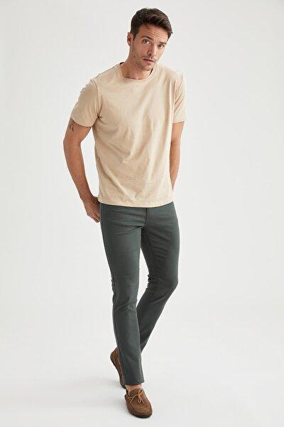 Slim Fit Esnek Gabardin Kumaş Pantolon