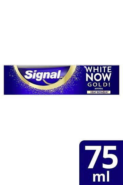 White Now Gold Anında Beyazlık Diş Macunu 75 ml